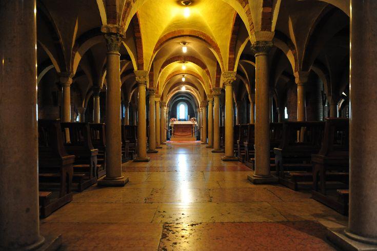 Cripta dell'Abbazia di Nonantola (Mo) Italy | Flickr - Photo Sharing!