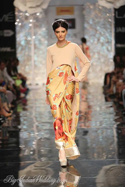 Masaba at Lakme Fashion Week Winter/Festive 2014