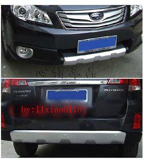 Передняя и Заднего Бампера Протектор алюминиевый для Subaru outback 2010 2011 2012 2013