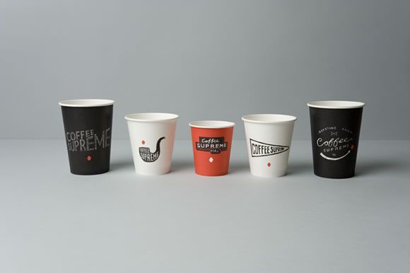 Coffee supreme takeout cups......that's if I wasn't trying to save the planet with my reusable one.