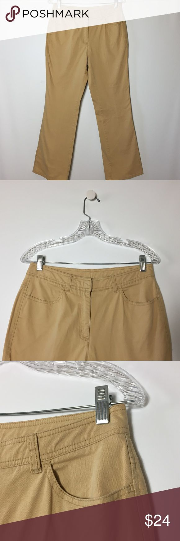 """CHICO'S WOMEN'S PANTS SIZE 0 SHORT CASUAL BEIGE CHICO'S  WOMEN'S  CASUAL SHORT BEIGE STRETCH SLACK PANTS  SIZE: 0 Short Color: Beige  Waist: 29"""" Rise: 10"""". Hips: 36"""" Inseam: 28"""" (A16) FOR ACCURATE SIZING MEASURE A PAIR OF YOUR CLOTHE WHILE FLAT AND COMPARE TO OUR SIZES above. Sizes listed are based on the item label. Item fit and sizing can vary by Manufacture. Chico's Pants"""