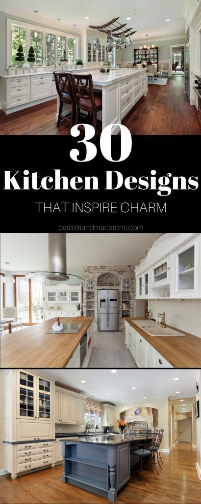 25 best ideas about beautiful kitchen designs on for Country kitchen designs layouts