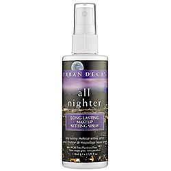 Urban Decay - All Nighter Long-Lasting Makeup Setting Spray- I don't care if you're 18 or 100, everyone needs this. It really works.