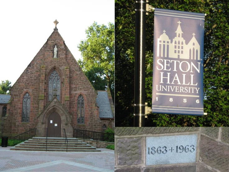 Front Foyer University : Best images about seton hall university chapel on