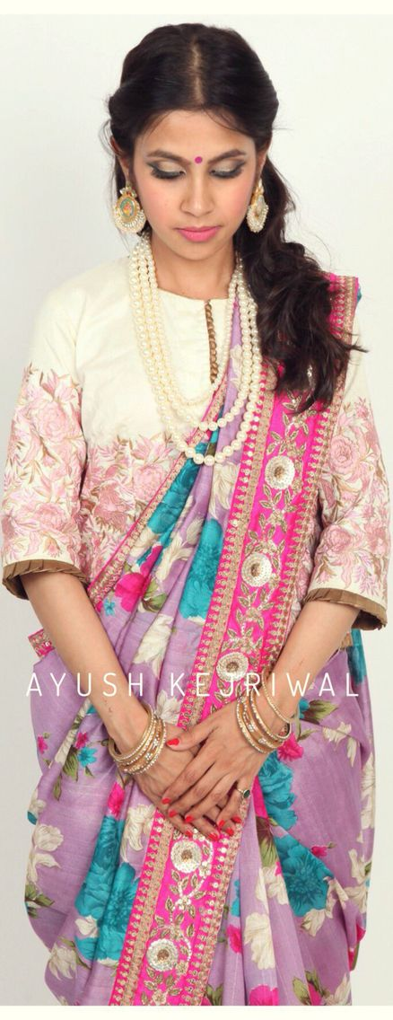 Saree by Ayush Kejriwal For purchases email me at ayushk@hotmail.co.uk or what's app me on 00447840384707