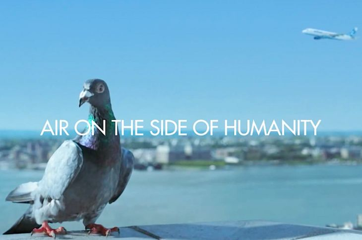 JetBlue's new ad campaign: Air on the side of humanity.