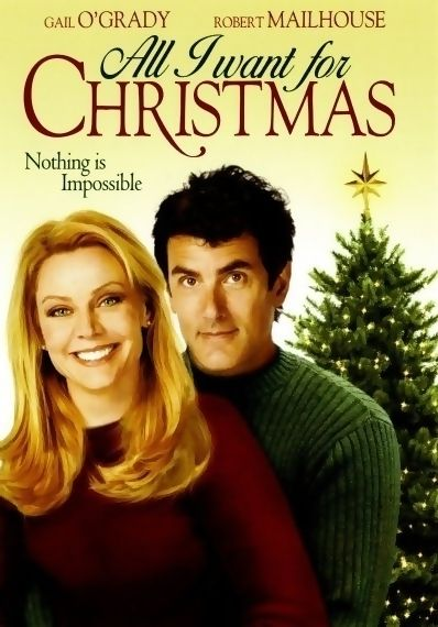 """All I Want For Christmas is a 2007 Hallmark Channel Original Movie starring Gail O'Grady, Robert Mailhouse and Jimmy 'Jax' Pinchak. Plot: Anxious to help his struggling, widowed mom SARA, 10 year old JESSIE enters a national video contest. But Jessie's winning entry, """"All I Want for Christmas is a Husband for my Mom,"""" has unforeseen consequences as Sara is vaulted into the national spotlight and dazzled into accepting a proposal from a wealthy man she may not love. Genre: Family, Romance."""