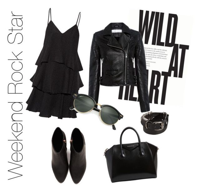 Rock On by melanie-quail-cotterill on Polyvore featuring polyvore, fashion, style, Paul & Joe, IRO, Alexander Wang, Givenchy, Ann Demeulemeester, Ray-Ban and clothing