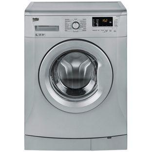 Buy Beko WMB61432S 6KG 1400 Spin Washing Machine - Silver at Argos.co.uk, visit Argos.co.uk to shop online for Washing machines