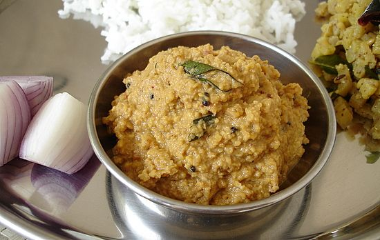 Kandi Pachadi - Tur Dal Chutney - Indian Food Recipes | Andhra Recipes | Indian Dishes Recipes | Sailu's Kitchen » All Recipes Andhra Recipes Indian Chutney Recipes - Pachadi Indian Dal Recipes Indian Lentil Recipes Indian Vegan Recipes Indian Food Recipes | Andhra Recipes | Indian Dishes Recipes | Sailu's Kitchen