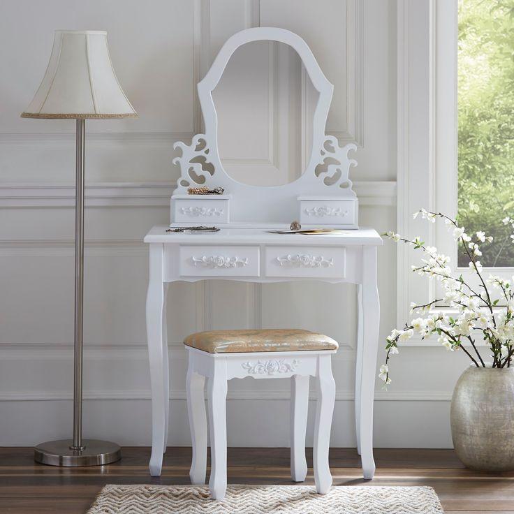 best 25 vanity table organization ideas on pinterest diy makeup table ideas diy makeup. Black Bedroom Furniture Sets. Home Design Ideas