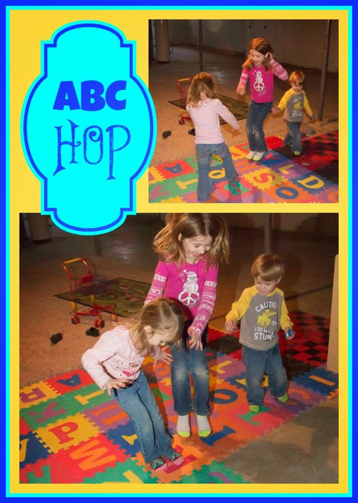 Fun ABC learning game - Hop on ABCs