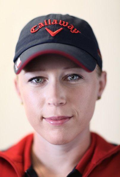 Morgan Pressel Logo Baseball Cap - Morgan Pressel Looks - StyleBistro