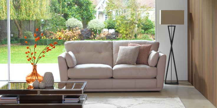 Linear Leather by G Plan. Available from Rodgers of York #Sofa #Home