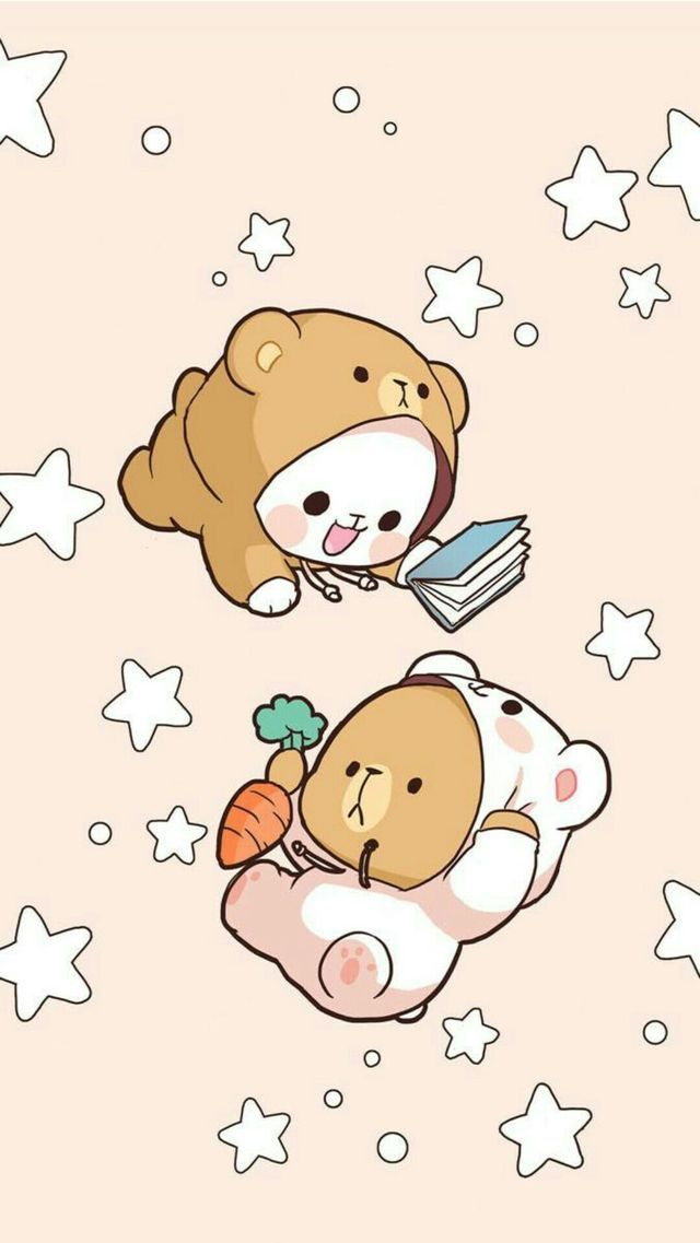 9af06c24581 Baby milk and baby mocha | baby milk and baby mocha in 2019 | Cute  drawings, Kawaii drawings, Cute cartoon wallpapers