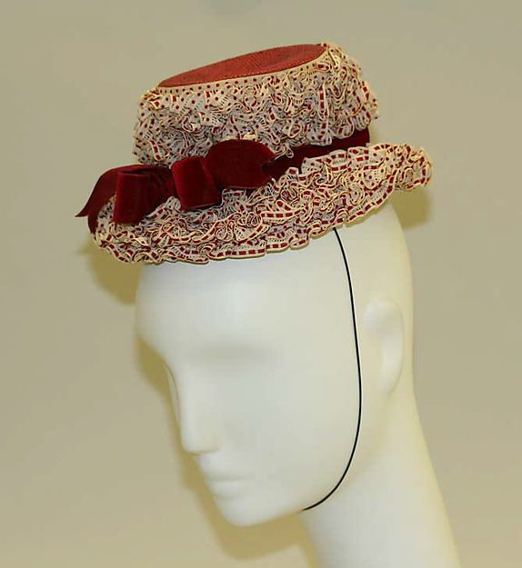 Lilly Daché | Hat ca. 1946 | American | The Met