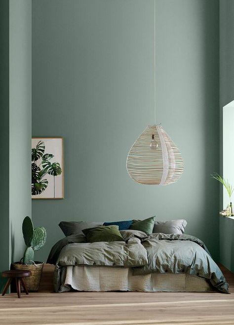 Vert sauge : le teinte parfaite dans toutes les pièces ! Weblog déco ClemATC