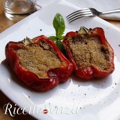 Peperoni ripieni vegan http://www.ricettesenza.it/le-ricette/item/221-peperoni-ripieni-vegan.html