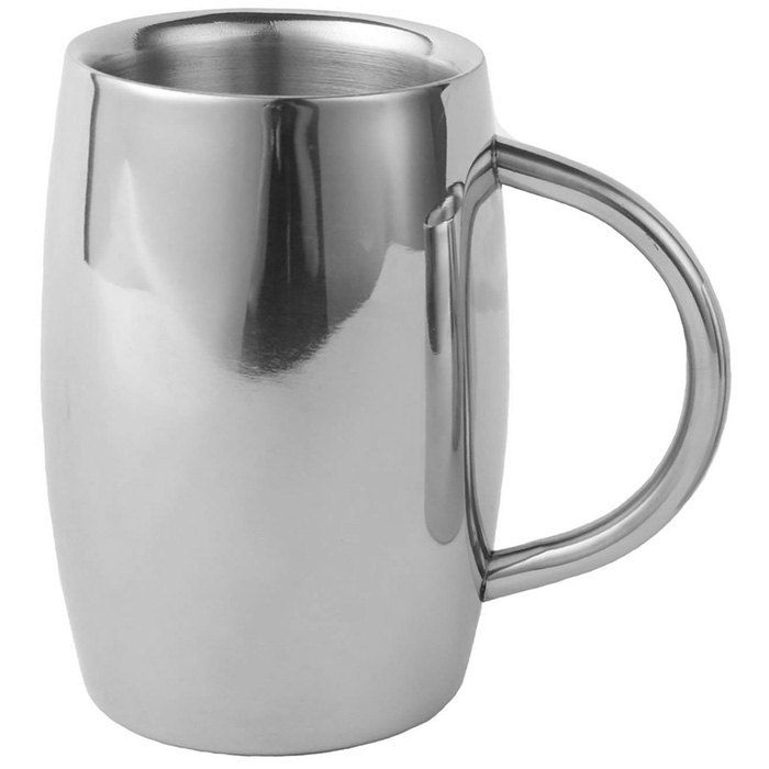 Practical Stainless Steel Coffee Mug 550ml Water Cup #CLICK! #clothing, #shoes, #jewelry, #women, #men, #hats, #watches