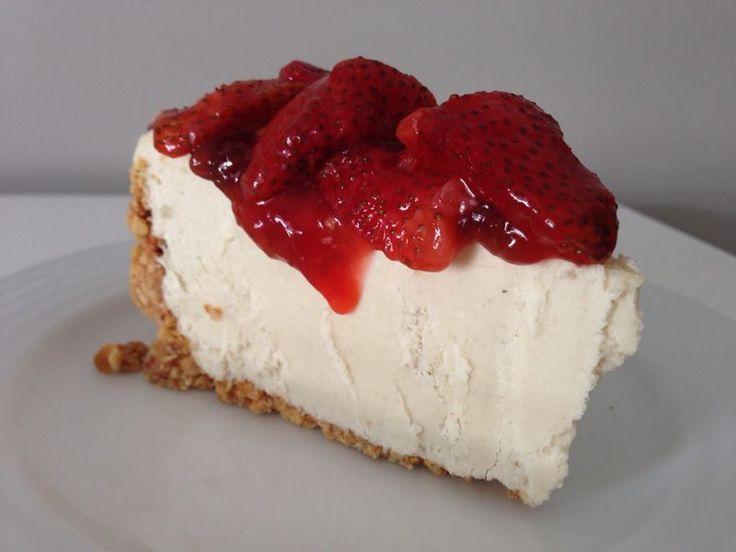 cheesecake vegano fit sasha fitness