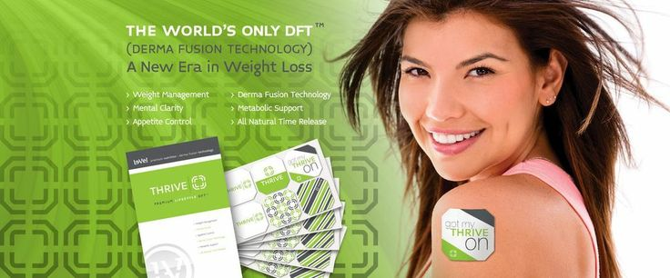 Thrive DFT Patch Part 3 of a 3 step product line that helps with Pain, Depression, Metabolism, etc.