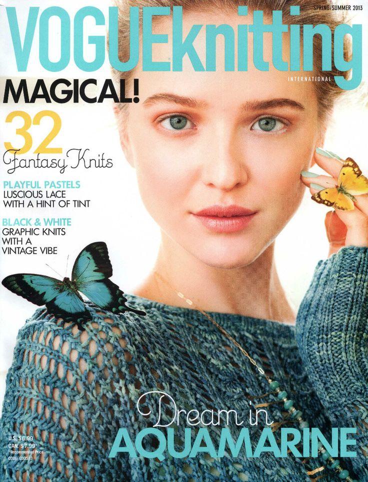 Vogue Knitting Spring 2013 - 紫苏 - 紫苏的博客