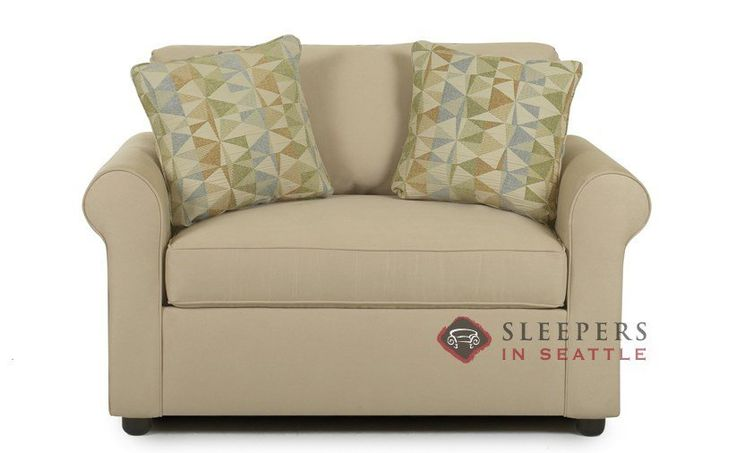 Savvy Ottawa Classic Sleeper (Chair) Traditional rolled arms. Perfect for relaxing. Customize it!