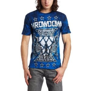 Throwdown by Affliction Men's Terminator Short Sleeve Tee (Apparel)  http://333deals.com/ams.php?p=B005KP5SES  #fashion #discount