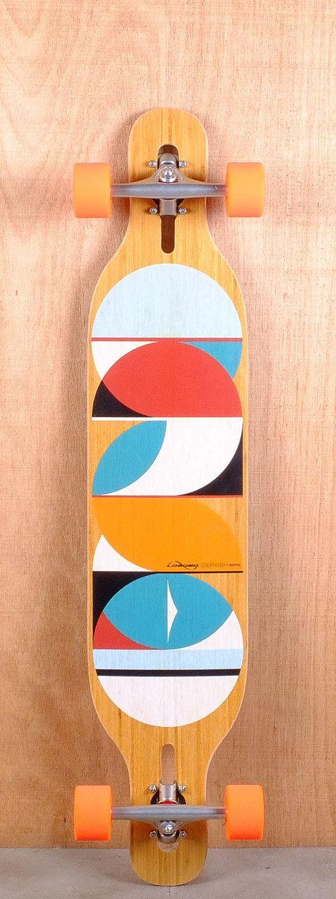"Loaded 43"" Dervish Sama Flex 2 Longboard Complete Bottom"