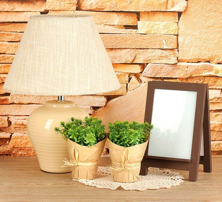 Dekoracje do domu - Lampa stołowa DecoArt24.pl