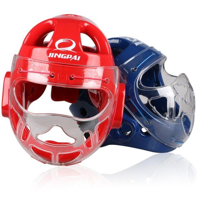 Pro MMA Martial Arts Muay Thai Gym Kick Boxing Head Guard Protector Gear Helmet