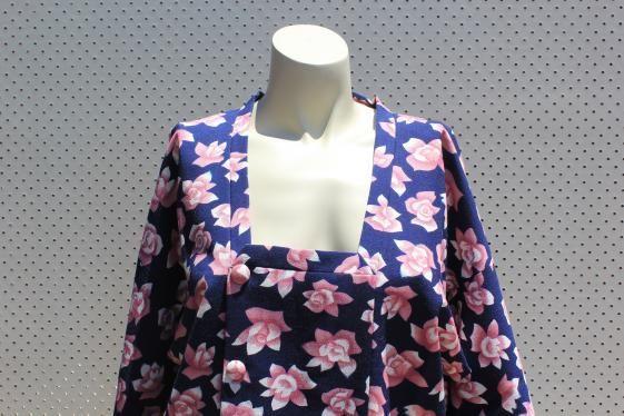 Round She Goes - Market Place - Japanese Vintage Kimono