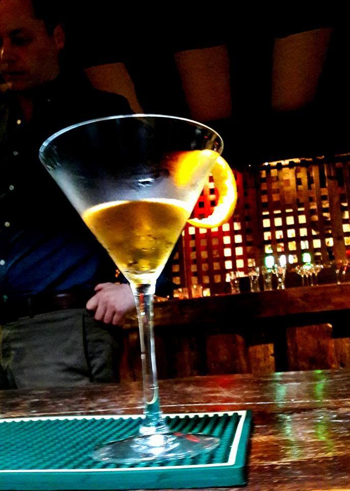 Making manhatten cocktails at Belleek castle#whiskey#yum#orangepeel