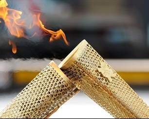 The 2012 Olympic Torch