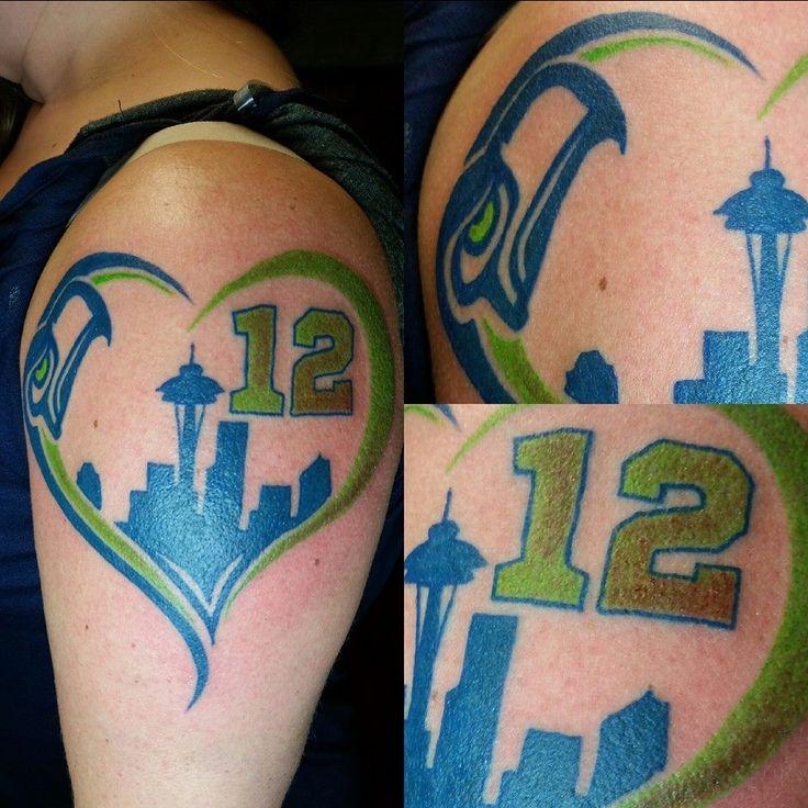 18 best seahawks tattoo ideas images on pinterest