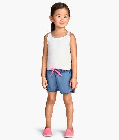 H&M Lyocell Denim Shorts $9.95