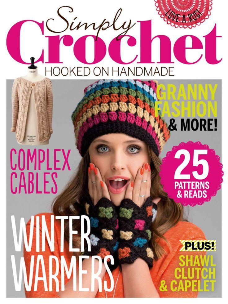 Simply crochet Issue 26 2015 Granny fashion