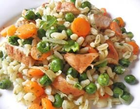 Ebly - Hähnchen - Gemüse - Pfanne ... Rezept - Rezepte kochen - kochbar.de - mobil