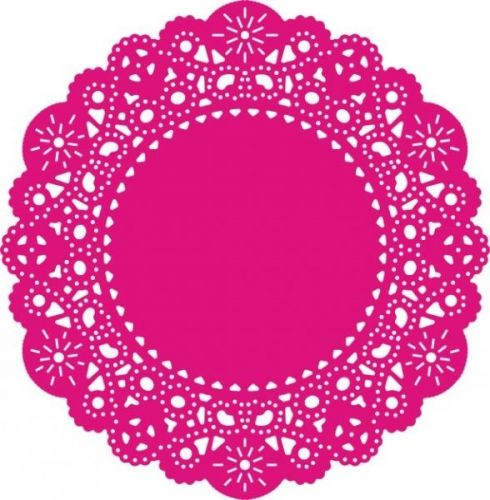 "CHEERY LYNN DESIGNS - DL102 - FRENCH PASTRY DOILY Weight: 0.1 lbsStr: 4 1/8"" X 4 1/8"" (105mm x 105mm)."