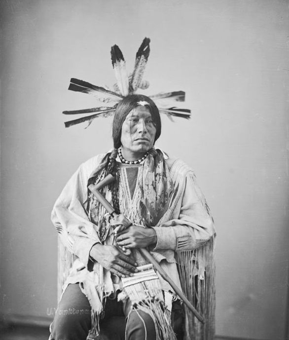 a review of the conflict between the lakota sioux indians and the whites The lakota assisted tecumseh (shawnee) and joined sides with the british in the war of 1812, the new conflict between the us and britain multitribal towns sprang up along the illinois river in support of the war effort.