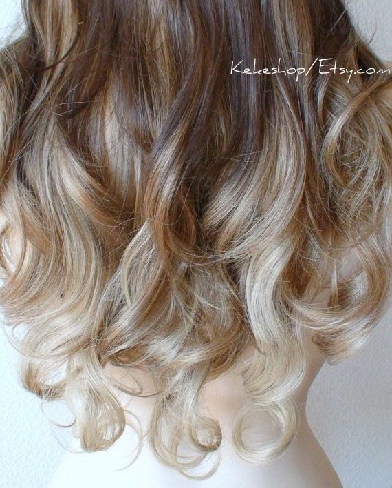 Dirty Blonde Hair Ideas Color 25: 25+ Best Ideas About Ombre Wigs On Pinterest