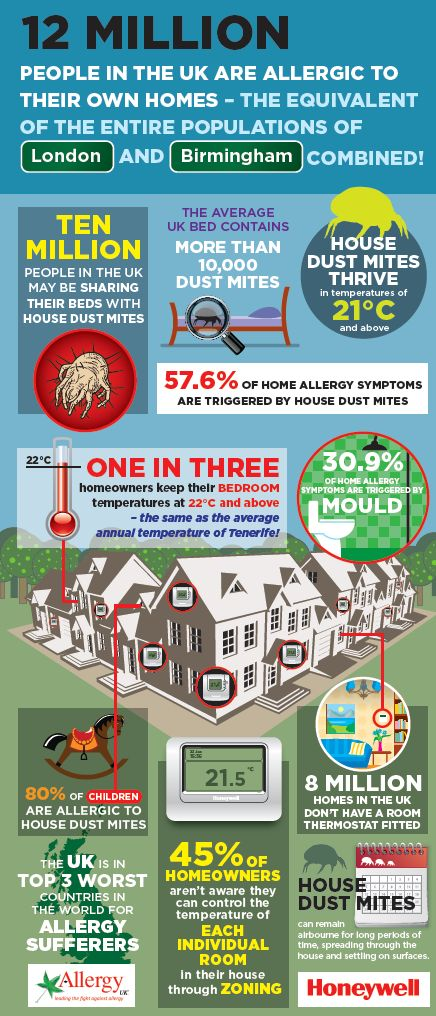How to help reduce your allergies bu some really simple and effective steps. Infographic on reducing allergies in the home/. Healthier homes makes such a difference