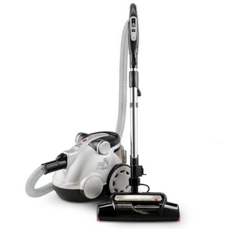 Hoover WindTunnel Bagless Canister Vacuum, S3755, Silver