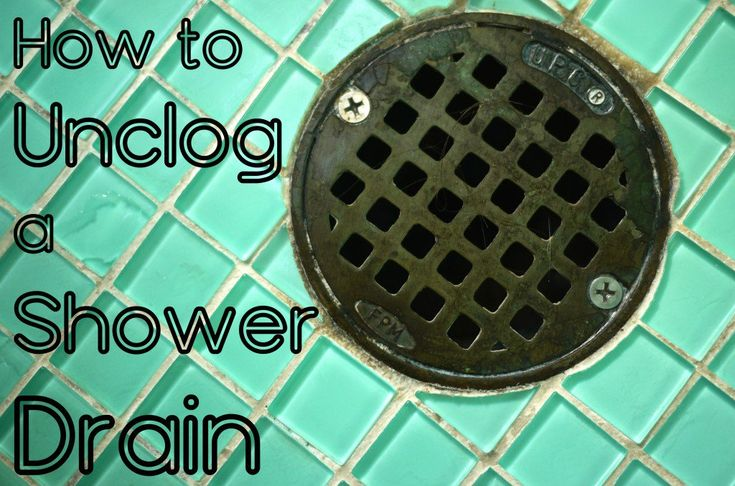 Best 25+ Unclog shower drains ideas on Pinterest   Clogged ...