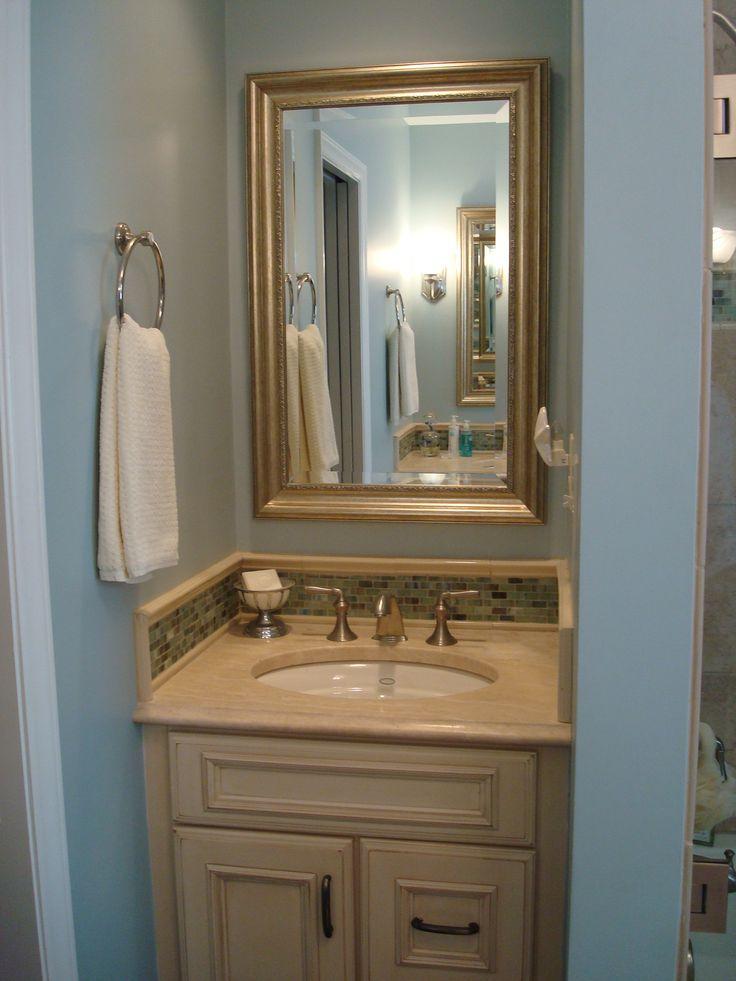 Best 25 Blue Small Bathrooms Ideas On Pinterest Blue