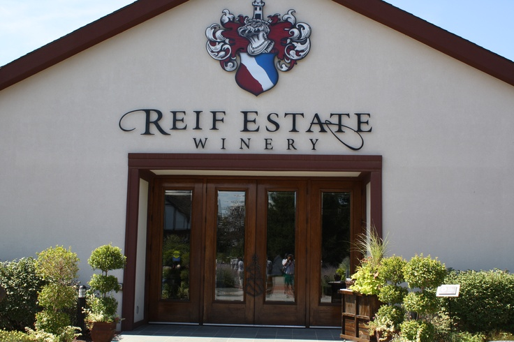 Reif Estates - Great Niagara Winery!