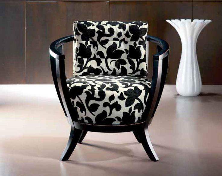 Sill n de dise o moderno matera butacas y sillones - Telas para tapizar sofas ...