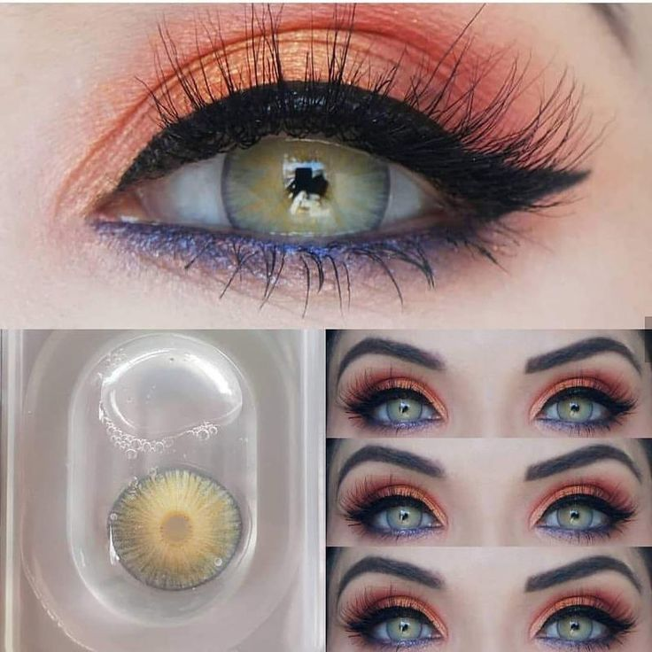 [US Warehouse] Cherry Ocean Presription Contact Lenses in