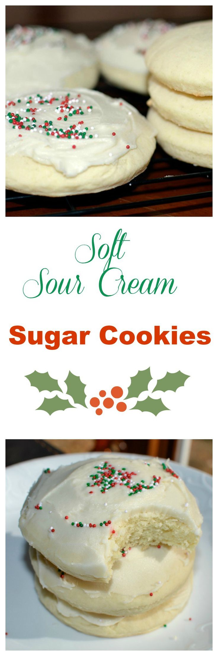 Soft Sour Cream Sugar Cookies Recipe! If You Give a Mouse a Christmas Cookie is available on Amazon.com 11/25/16 to stream. Don't miss it! #ad #Amazon