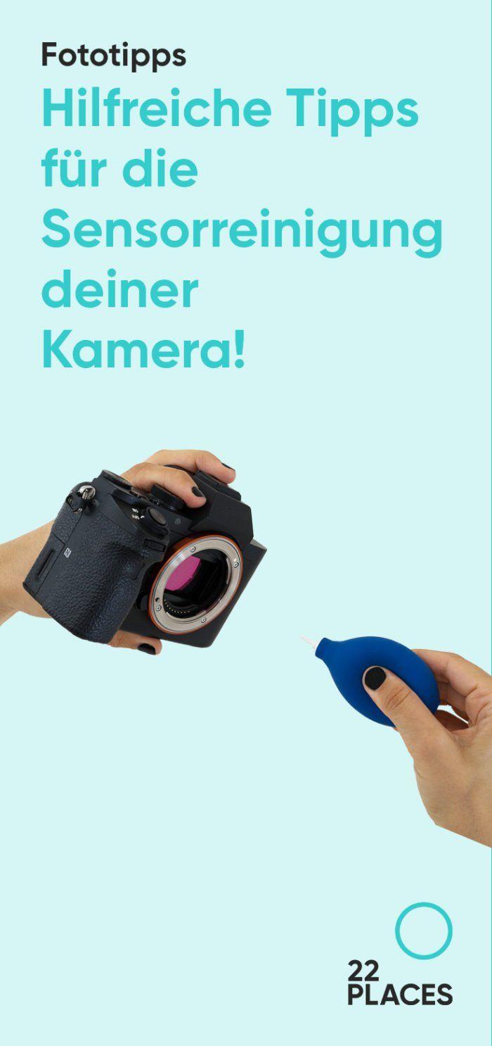Sensorreinigung für die Kamera: Alles, was du wissen musst
